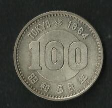 Japon : 100 Yen 1964 Argent