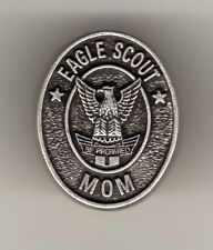 Eagle Scout Mom Recognition Pin, Oval Metal, Mint in Pkg!