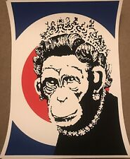 West Country Prince Monkey Queen limited edition print xx/500