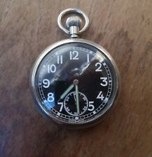 A vintage Swiss made British military pocket watch.