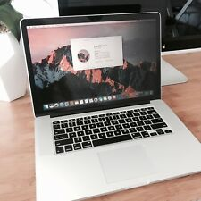 "Apple Macbook Pro 15"" Retina Display 2.5Ghz i7 16GB 512GB"