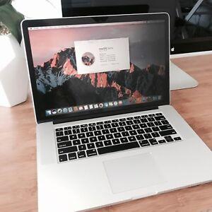 """Apple Macbook Pro 15"""" Retina Display i7 16GB 512GB Mid 2015"""