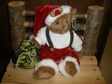 """Nwt Bearington Bear 14"""" Plush """"Yule B. Jolly"""" #173155"""