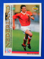 CARD UPPER DECK 1993 WORLD CUP USA 94 - N. 112 - VAN BASTEN - OLANDA