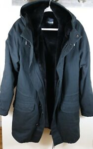 Yves Salomon Homme Fur Lined Parka Jacket Coat Size 44 Brand New