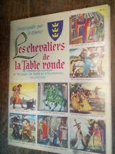 L'encyclopédie par le timbre Les chevaliers de la table ronde complet