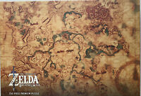 The Legend Of Zelda Breath of the Wild Jigsaw Puzzle 750 Pieces Nintendo USA