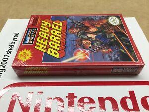 Datea East Heavy Barrel Nes Nintendo New Factory Sealed NOS VGA WATA ??