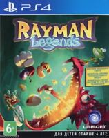 Rayman Legends (PS4, 2014) Russian/English version, Русская версия