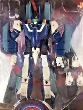 ROBOTECH NEW SUPER VF-1J MAX BATTLECRY VERITECH BLUE POSEABLE TOY RARE (R07)