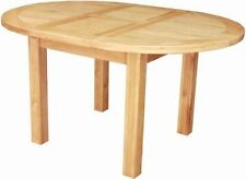 Oak Oval Contemporary 60cm-80cm Kitchen & Dining Tables