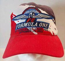 NWT Vtg Formula 1 One Racing Grandprix Cap Hat Strapback Indianapolis USA 2002