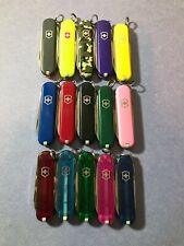 Victorinox Classic SD Swiss Army Knife 3 Tool Pocket Knife (Various Colors)