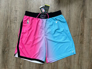 Nike Men's Miami Heat Vice City Edition Swingman Shorts Sz XL CN1978-686