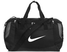 Nike Club Team Sports Bags Swoosh Duffel Travel Holdall Duffle Gym Black Small