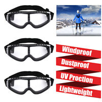 3PCS Snow Ski Goggles Over Glasses Anti-fog Lens Snowboard Snowmobile Motorcycle