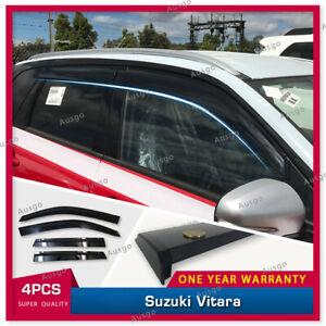 AUS Original Injection Weather Shields Weathershields For Suzuki Vitara 2015+ #T