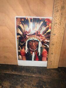 Chief Bill-Rock Antique Postcard Vintage