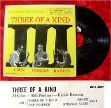 EP Al Cohn Bill Perkins Richie Kamuca: Three of a Kind