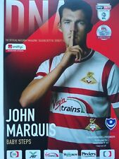 Doncaster Rovers v Portsmouth Sky Bet League One 17/10/2017 MINT RARE
