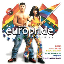 Compilation 2xCD Gay & Lesbian Europride Paris 97 - France (EX+/EX+)