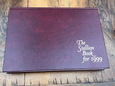 More details for the stallion book for  1999 ( large hardback with slip case)