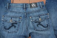 Blue Denim ROCK & REPUBLIC KASANDRA Stretch Boot Cut Jeans 0