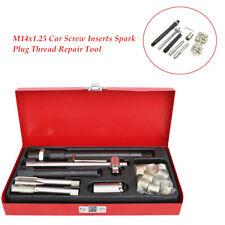 Car Spark Plug Thread Repair Tool M14x1.25 Tap Wrench Metric Tool Kit Universal