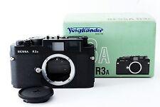 【 Top Mint !! 】 Voigtlander Bessa R3A 35mm rangefinder camera from Japan #2363