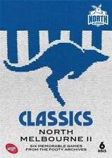 AFL Classics - North Melbourne II (DVD, 2017, 6-Disc Set)