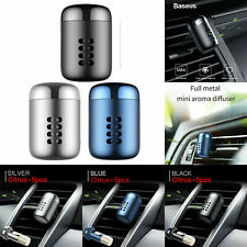 Baseus Mini Aroma Car Air Freshener Outlet Vent Solid Perfume Fragrance Diffuser