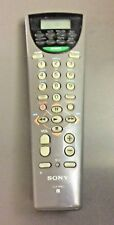SONY Remote Control RM-V60 8 Device Universal Grey w/ Rear Lid RM V60