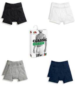 New 4 Pairs Fruit Of The Loom Men's Classic Boxer Pants Underwear Shorts Trunk