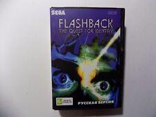 Flashback Sega Genesis Mega Drive.+