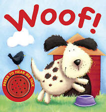 Woof! (Animal Sounds), New,  Book