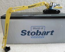 Atlas Editions - Oxford Diecast PC340 Excavator -  World Of Stobart