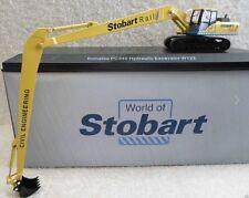 ATLAS Editions-Oxford Diecast Komatsu Escavatore PC340-Stobart RAIL.