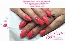 Gel'in soak off color gel polish n°31  Coraline 15ml
