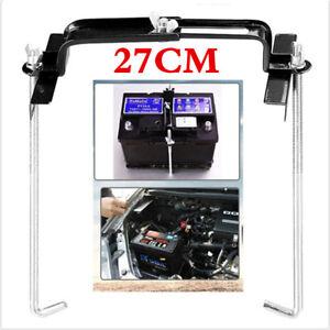 Auto Truck Storage Battery Holder Adjustable Stabilizer Metal Rack Bracket Stand