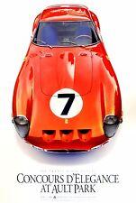 Ferrari GTO Cincinnati Ault Park 2006 Concours d'Elegance poster Enzo Vintage
