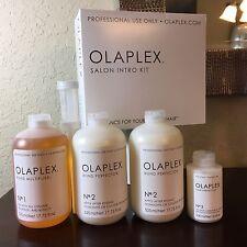 Olaplex Large Salon Intro Kit Bond Multiplier #1 Perfector #2 Hair Perfector #3