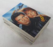1995 James Bond 007 Golden Eye Trading Cards, Complete 90 Card Set, Graffiti.
