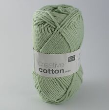 Rico Creative Cotton Aran -  Cotton Knitting & Crochet Yarn - Aquamarine 42