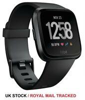 Fitbit Versa Health Fitness Smartwatch, Black, Grade B