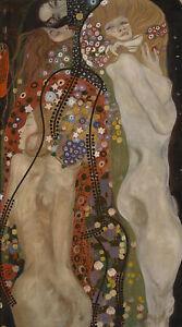 Gustav Klimt Full Drill Diamond Painting Kit Water Serpents Diamond Embroidery