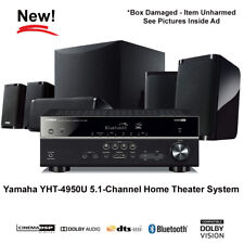 Yamaha YHT-4950U 5.1-Channel Home Theater System with Bluetooth