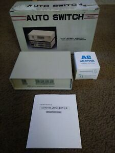 Auto Data Switch Sharing Device RS232C 401 Electronics Server Manual Computer US