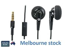 Genuine Motorola Eh25 3.5mm Headset With Ear Cushions and Wire Clip