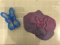 rabbit easter bunny Cookie Cutter