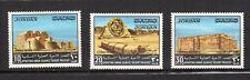 JORDANIE 1974 Y&T N°826 à 828 3 timbres neufs avec charnière /T4031